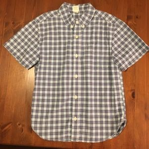 Old Navy Plaid Button-Down Size 8